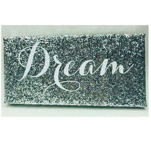 Other - Canvas Inspiration Board Dream Sequin Wall Art